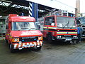 Bedford fire engines A861 OAS & DGD 213X, GVVT open day 14 Oct 2012.jpg