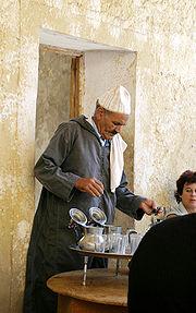 Marokkaner beim Tee, 2003