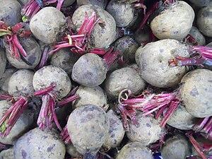 Beet root vegetable