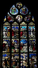 Maîtresse-vitre de l'église Saint-Pierre de Beignon