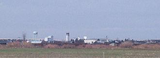 Belgrade, Montana - Belgrade as seen from Airport Road