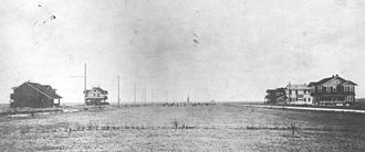 Bellaire, Texas - A photograph of Bellaire, dated 1911, from the Houston Post archives