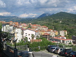 "Panoramic view from ""Piazza XX Settembre"""