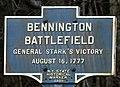 Bennington Battlefield Marker.jpg
