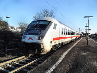 Main-Neckar Railway - InterCity train from Frankfurt