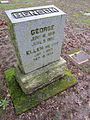 Benson, George and Ellen at Lone Fir Cemetery.JPG