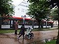 Bergen, Kaigaten, tram.jpg