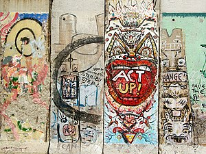 Freedom Park (Arlington, Virginia) - Segments of the Berlin Wall in Freedom Park