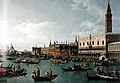 Bernardo Bellotto - The harbor basin of San Marco in Venice on Ascension Day - Castle Howard Collection PO0131.jpg