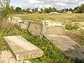 Bernau - Gefallene Mauerstuecke (Fallen Pieces of Wall) - geo.hlipp.de - 29024.jpg