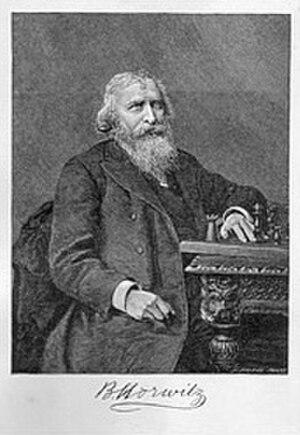 Bernhard Horwitz - Image: Bernhard Horwitz (ca. 1860)