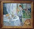 Berthe morisot, interno a jersey, o bambina con la bambola, 1886.jpg