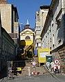 Betlémský kostel, cesta v rekonstrukci.JPG