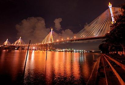 วิธีการเดินทางไปที่ สะพานภูมิพล โดยระบบขนส่งสาธารณะ – เกี่ยวกับสถานที่