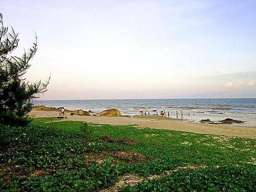 Biển ở Bình Châu