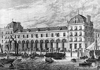 Old Billingsgate Market - Billingsgate Fish Market in 1876