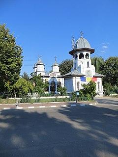 Bolintin-Vale Town in Giurgiu, Romania
