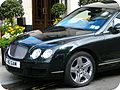 Black Bentley @ The beautiful Dorchester Hotel in London Mayfair, England United Kingdom. One of the most recognized and luxurious hotels on the planet. Enjoy! ) (4579377489) (2).jpg