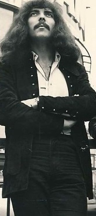 Tony Iommi - Tony Iommi in 1970