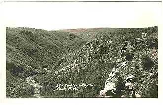 Blackwater Canyon - Blackwater Canyon (Postcard of circa 1930)