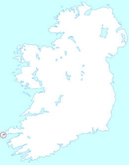 Islands Of Ireland Map.Blasket Islands Wikipedia