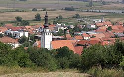 Skyline of Blučina