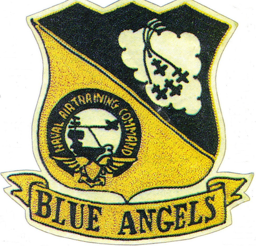 Blue Angels Vinage Insignia