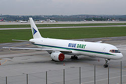 Boeing 757-200SF der Blue Dart Aviation