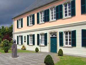 Endenich - Schumannhaus, the former Richarz'sche Heilanstalt