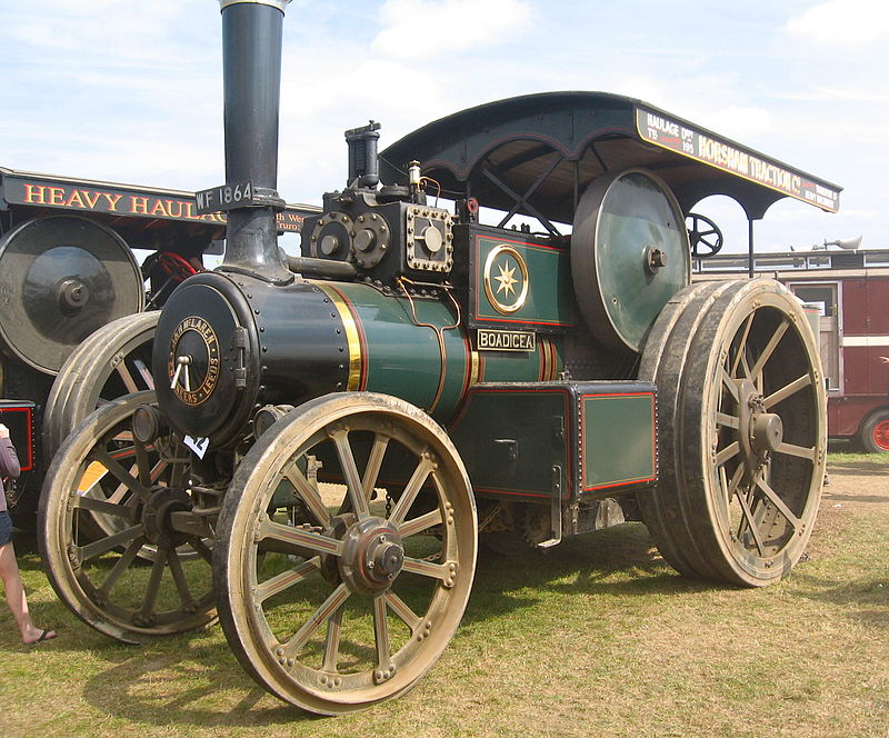 Boadicea traction engine Great Dorset Steam Fair.jpg