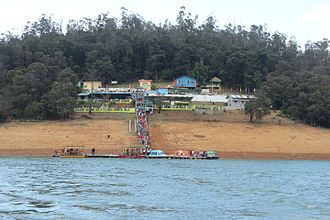 Ooty - Boating in Pykara Lake in Ooty