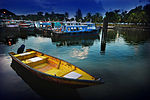 Boats at Changi Point Ferry Terminal, Singapore - 20080630.jpg