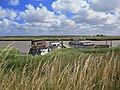 Boats on the Broads in front of Berney Arms Pub on Breydon Water - geograph.org.uk - 1068494.jpg