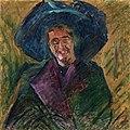 Boccioni - Busto di signora con grande cappello, 1911.jpg