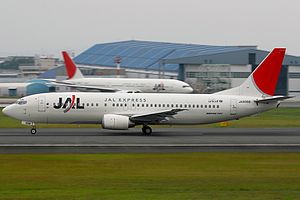 Boeing 737-446, JAL Express - JAL AN1616455.jpg
