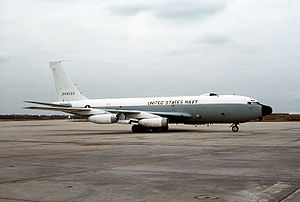 Boeing NC-135 - NKC-135A of the US Navy's Fleet Electronic Warfare Systems Group
