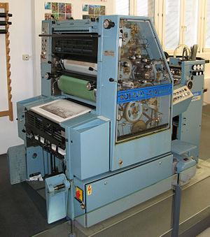 "Manroland - Type ""Roland Favorit RF01"""