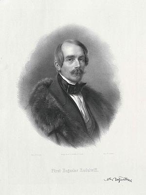 Bogusław Fryderyk Radziwiłł - Image: Bogusław Radziwiłł (1809 1873)