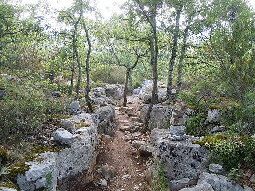 Bois de Paiolive - murets