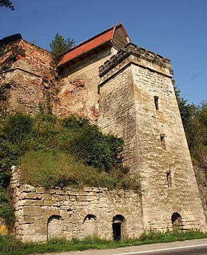 Boița - The old customs tower in Boița