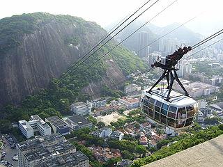 Morro da Babilônia favela in Leme, Rio de Janeiro, Brazil