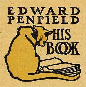Edward Penfield - Image: Bookplate of Edward Penfield