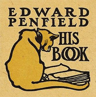 Edward Penfield - Image: Bookplate of Edward Penfield