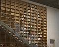 Bookshelves in the Estonian National Museum.jpg