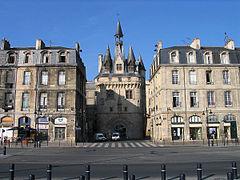 Bordeaux wikip dia for Porte cailhau