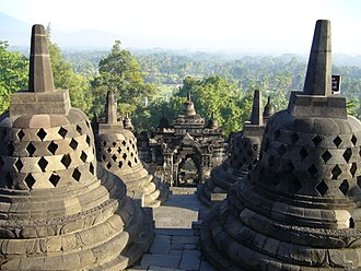 Central Java - Borobudur Temple Compounds