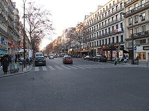 Boulevard Montmartre - Boulevard Montmartre in February 2010