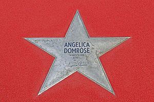 Angelica Domröse - Star on the Boulevard of Stars in Berlin