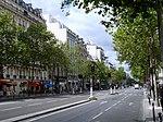 Boulevard du Montparnasse à Paris en été (août 2019).JPG