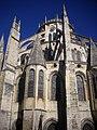 Bourges - cathédrale Saint-Étienne, chevet (01).jpg